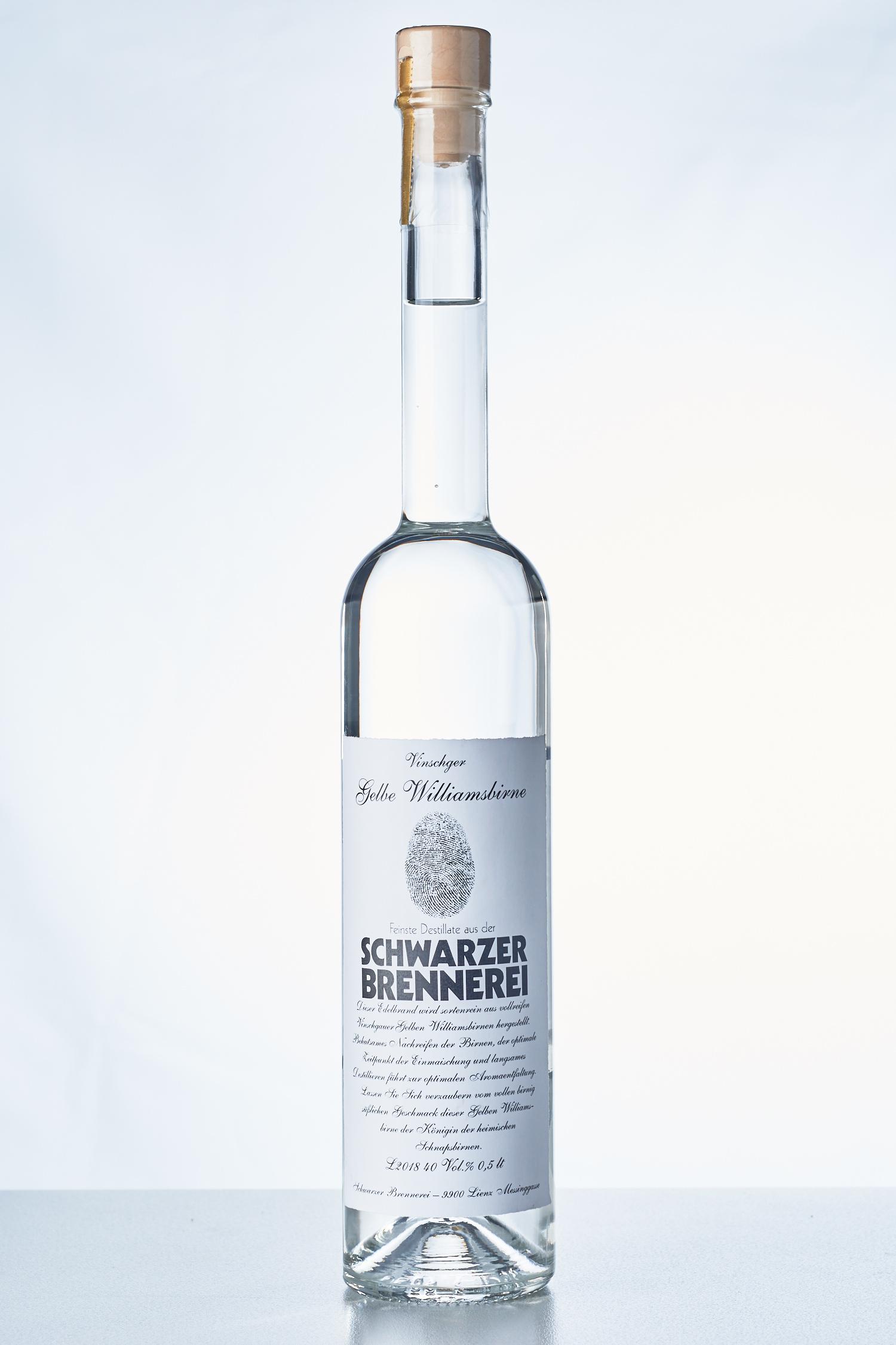Schwarzer Brennerei - Vinschger Williams