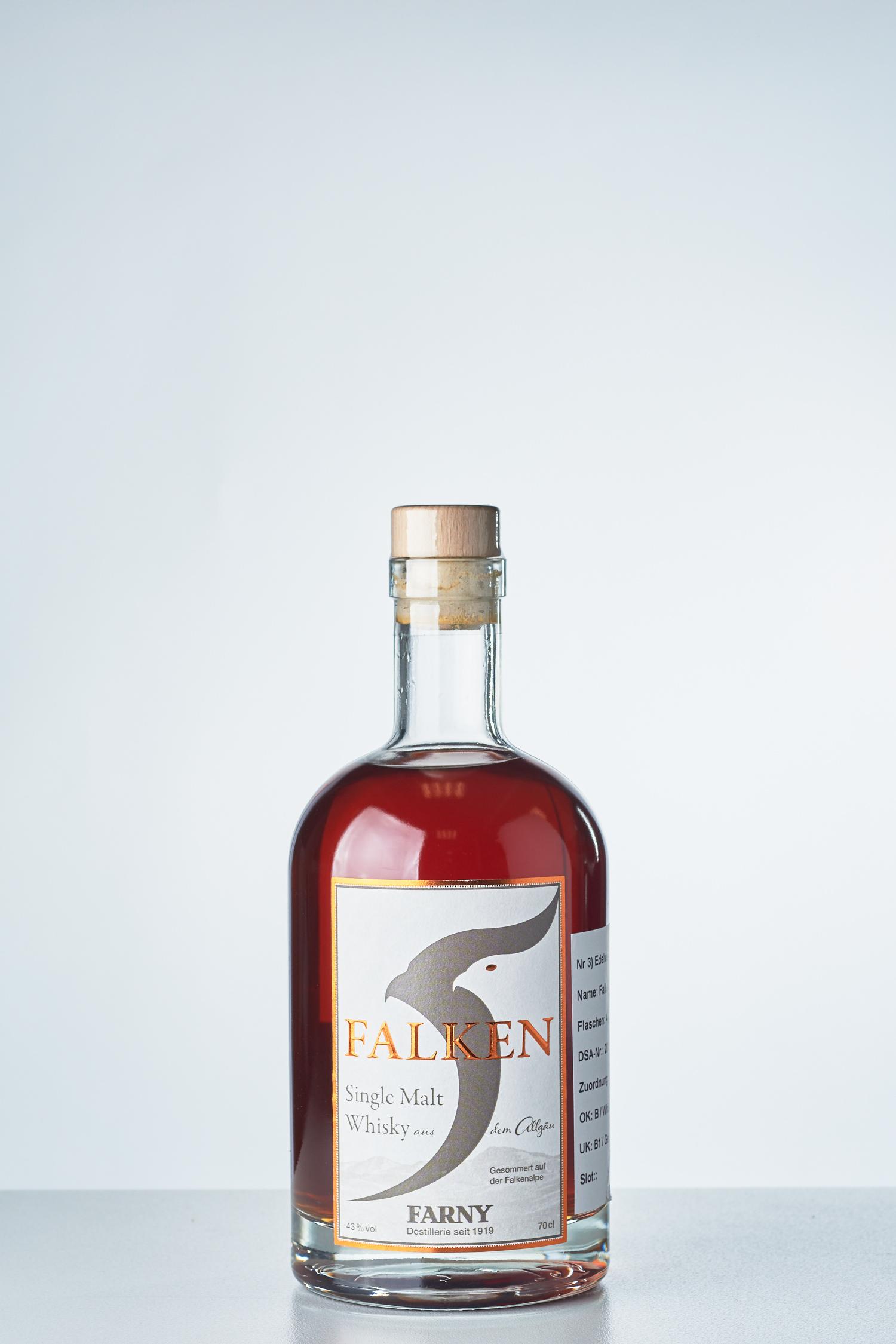 Edelweissbrauerei Farny - Falken Whisky