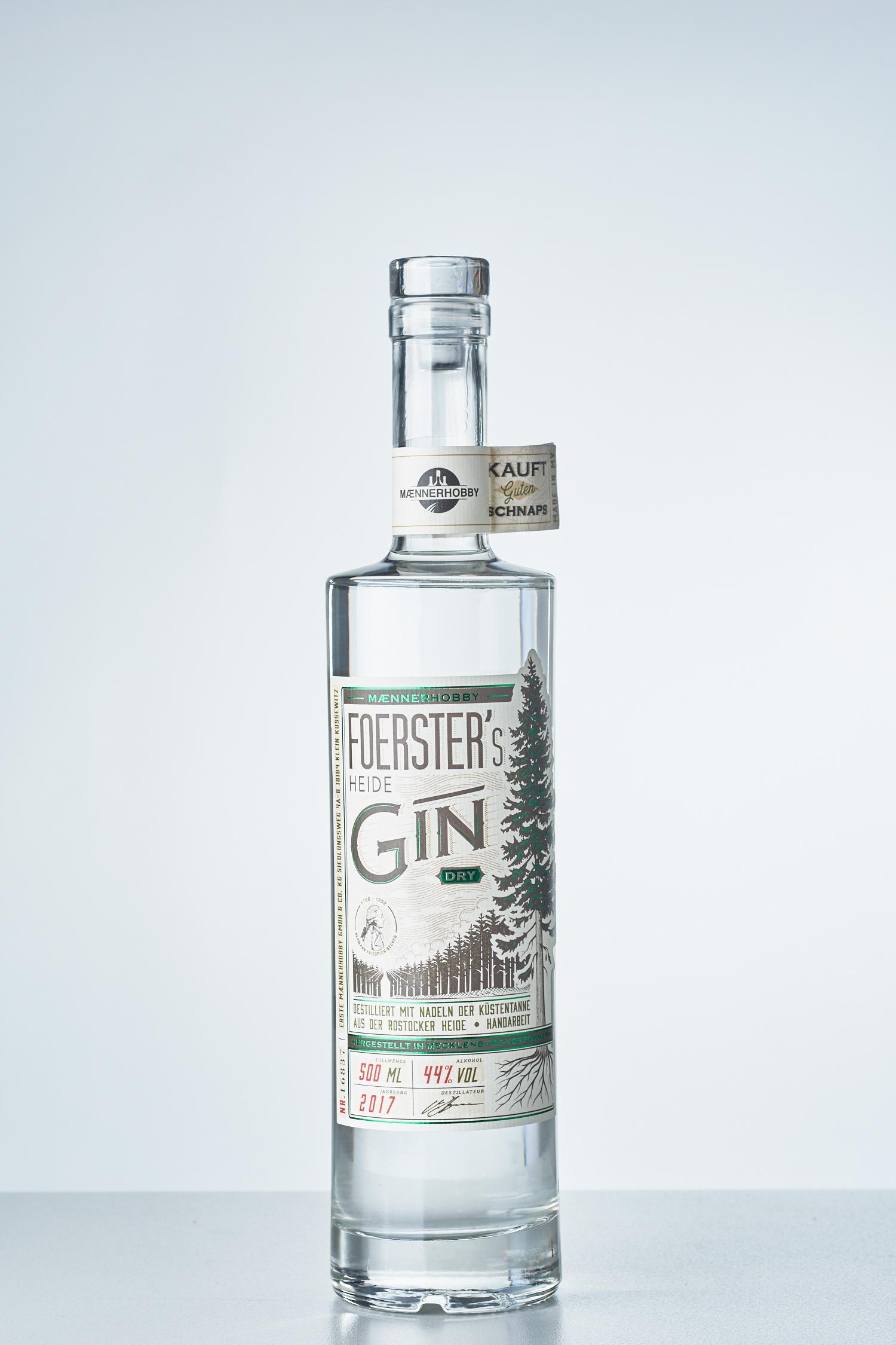 Erste MAENNERHOBBY - FOERSTERs Heide Gin