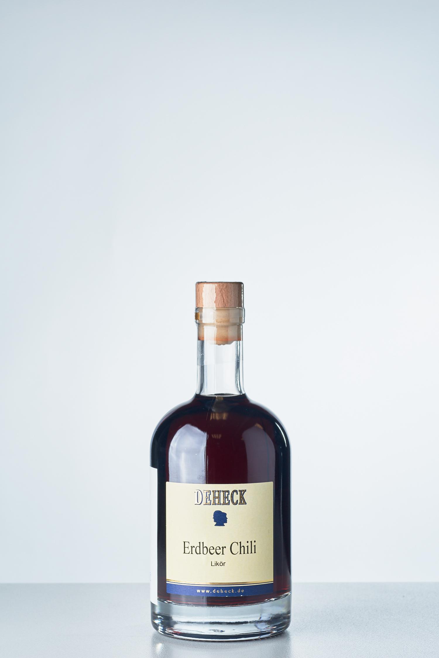 DEHECK Destillerie - Erdbeer Chili Likör