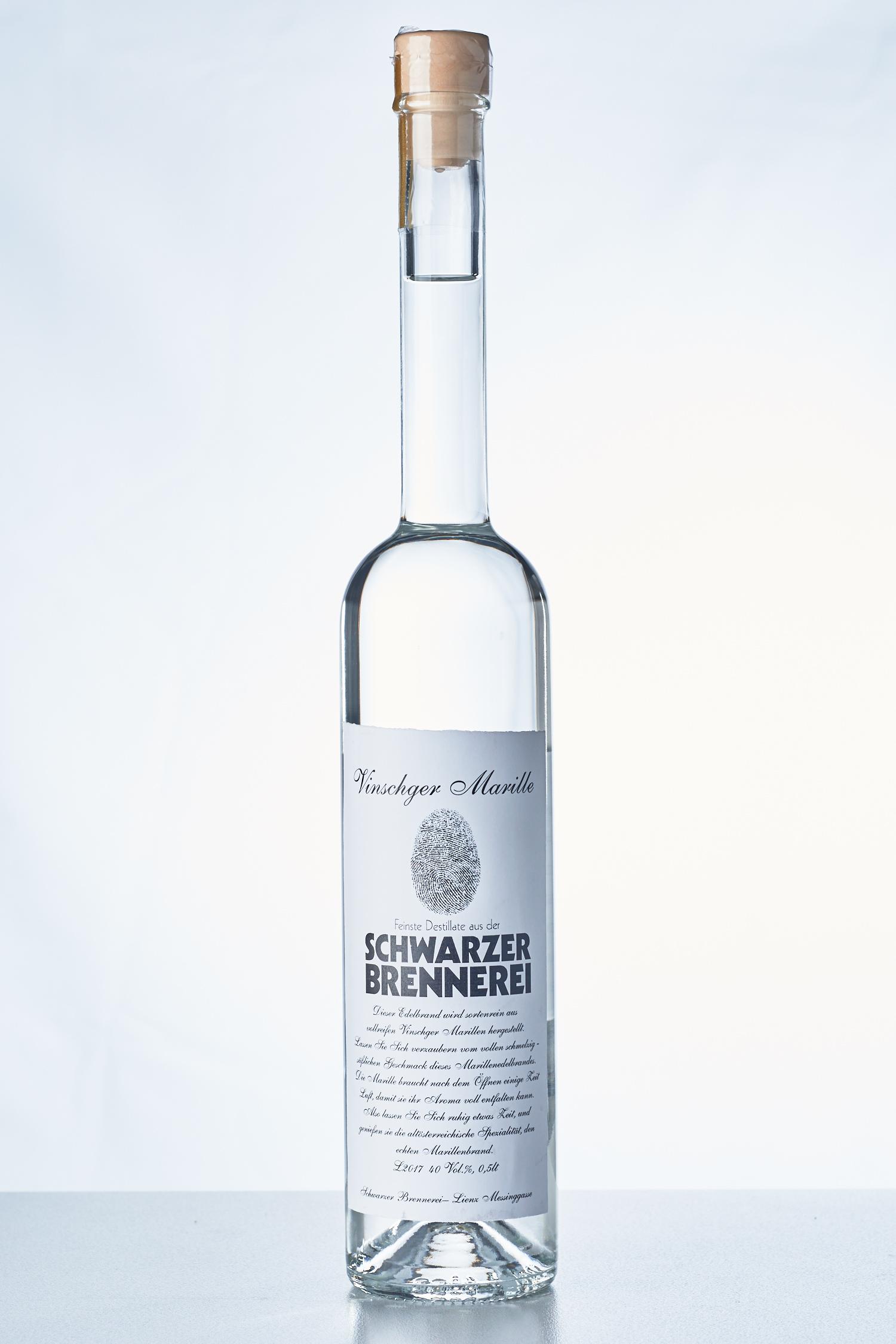 Schwarzer Brennerei - Vinschger Marille