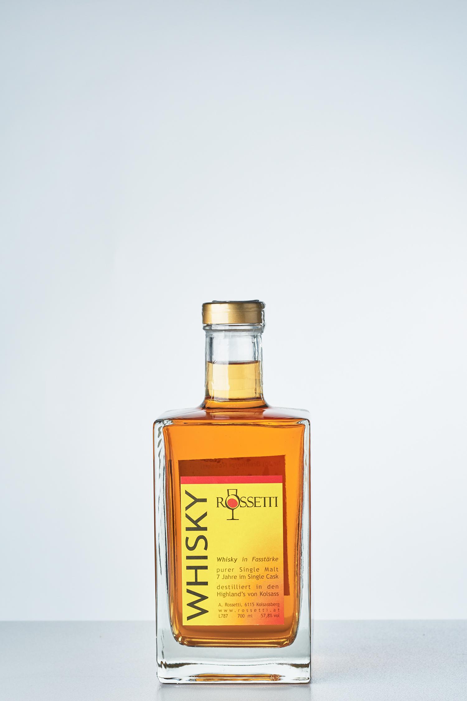 Brennerei Rossetti - Whisky Fassstärke