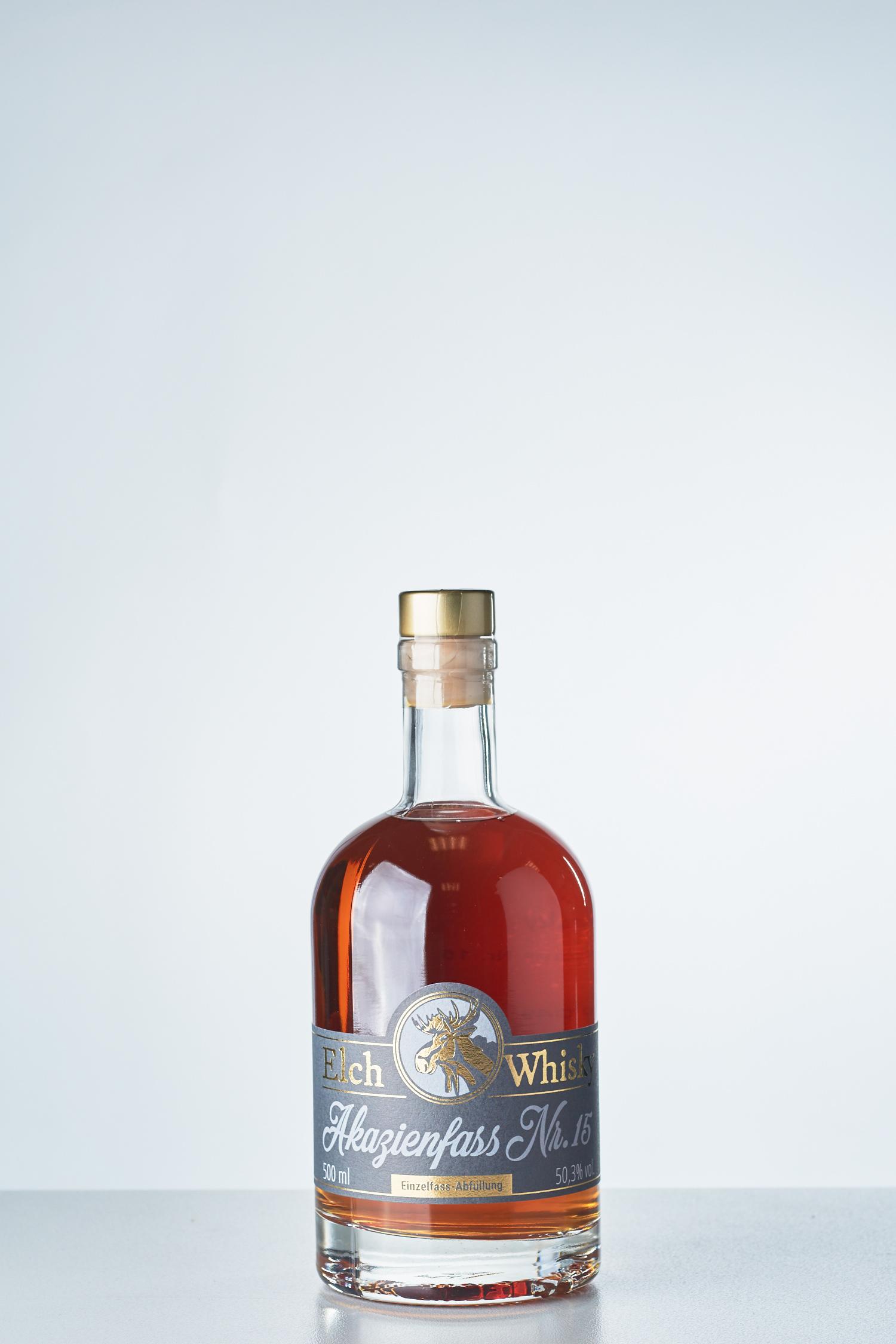 Elch-Whisky - Akazienfass Nr.15