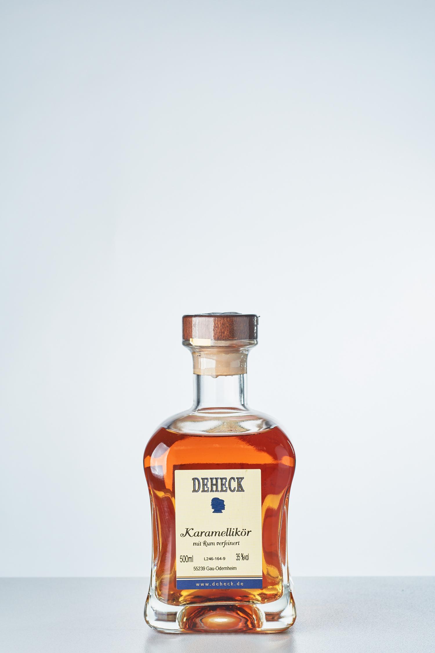 DEHECK Destillerie - Karamell Likör mit Rum